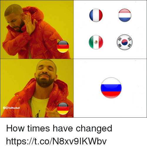 Memes, 🤖, and How: OOTrollFootball How times have changed https://t.co/N8xv9IKWbv