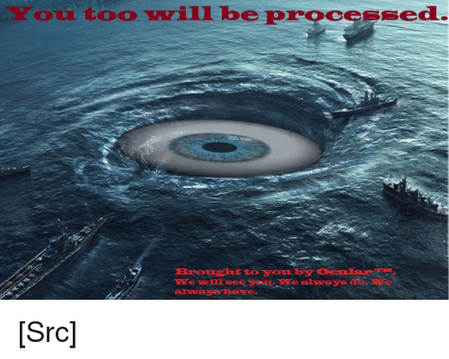 processing: ou too vill be processed.  e ll see yaLe [Src]