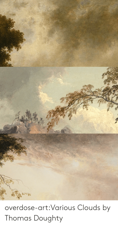 clouds: overdose-art:Various Clouds by Thomas Doughty