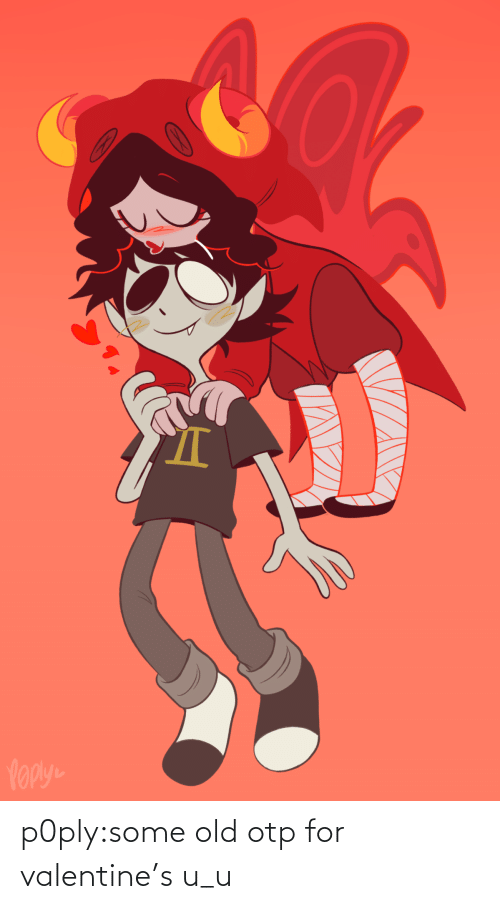 valentines: p0ply:some old otp for valentine's u_u