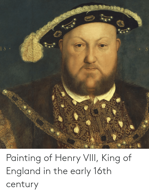 henry: Painting of Henry VIII, King of England in the early 16th century