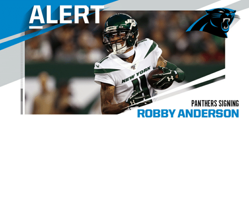 deal: Panthers sign WR Robby Anderson to two-year, $20M deal. (via @RapSheet) https://t.co/pMfxTVPeZ8