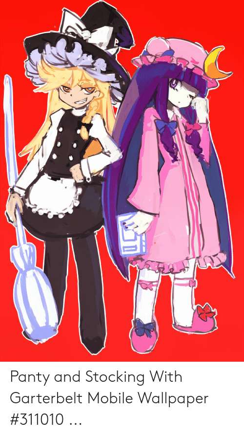 Panty And Stocking With Garterbelt Mobile Wallpaper 311010