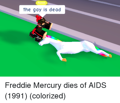 Mercury, Freddie Mercury, and Aids: Parent  the gay is dead Freddie Mercury dies of AIDS (1991) (colorized)