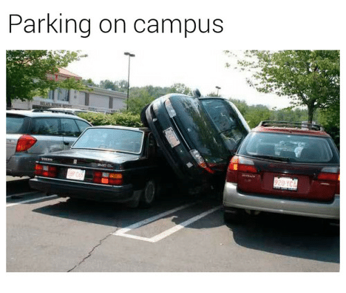 Parking and Campus: Parking on campus