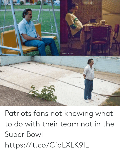 Patriotic: Patriots fans not knowing what to do with their team not in the Super Bowl https://t.co/CfqLXLK9lL