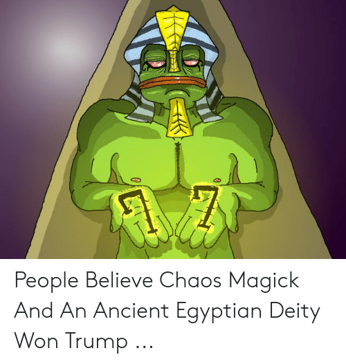 People Believe Chaos Magick and an Ancient Egyptian Deity