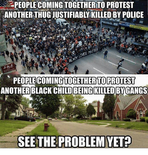 Black Child: PEOPLE COMINGTOGETHERTO PROTEST  PEOPLE COMINGTOGETHERTO PROTEST  ANOTHER BLACK CHILD BEING KILLEDBYGANGS  SEE THE PROBLEM YET