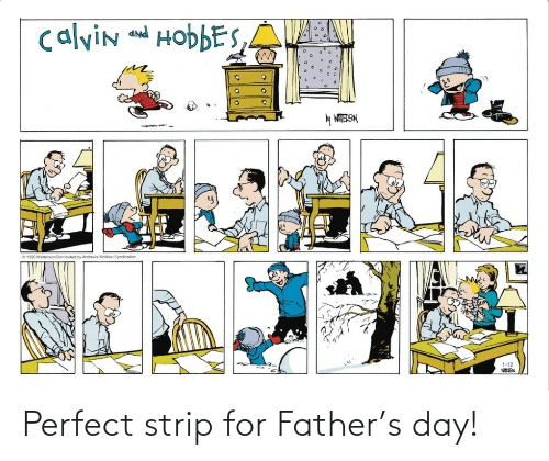 strip: Perfect strip for Father's day!