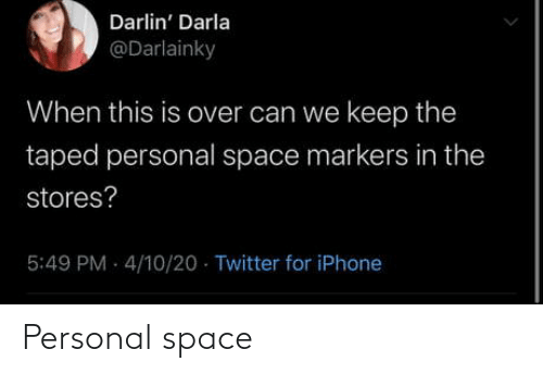 personal: Personal space