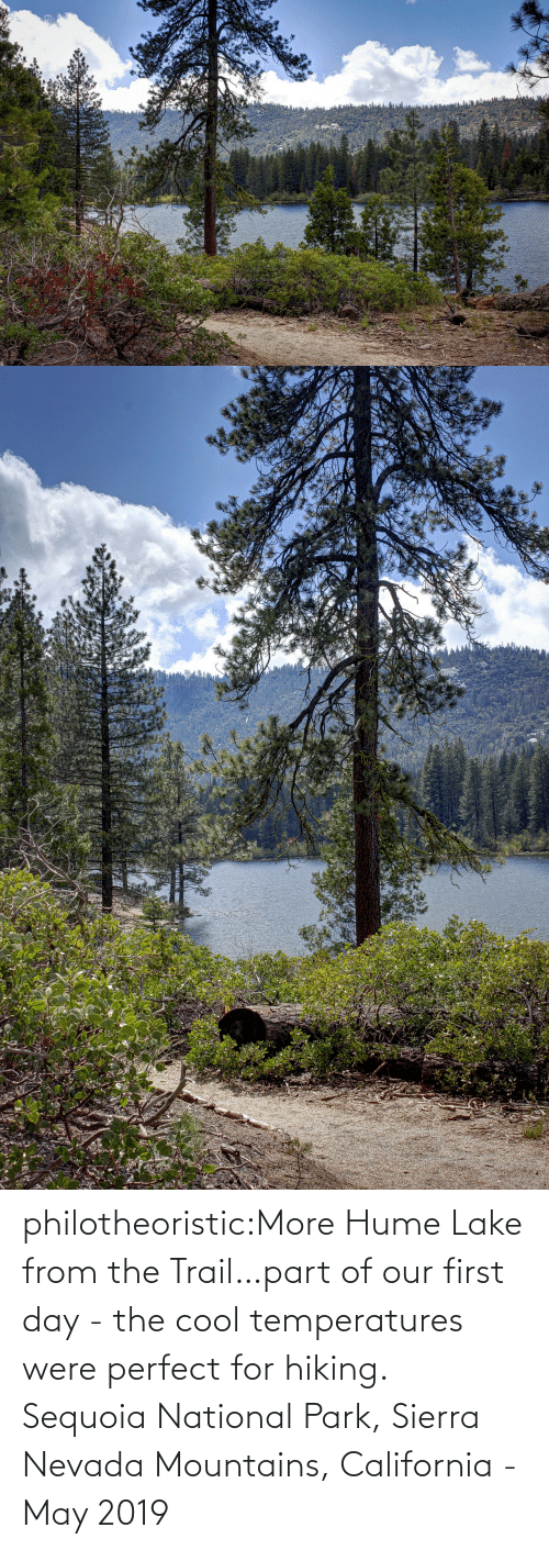 Of Our: philotheoristic:More Hume Lake from the Trail…part of our first day - the cool temperatures were perfect for hiking.  Sequoia National Park, Sierra Nevada Mountains, California - May 2019