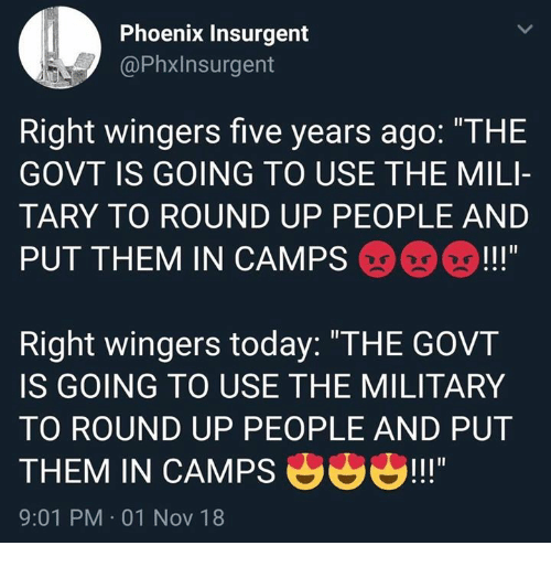 eb961d65ab2 Memes, Phoenix, and Today: Phoenix Insurgent @Phxlnsurgent Right wingers five  years ago
