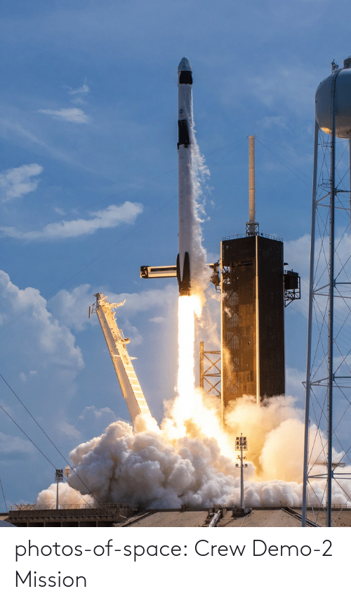 2: photos-of-space:  Crew Demo-2 Mission