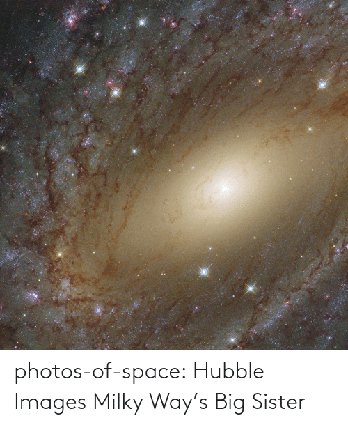 sister: photos-of-space:  Hubble Images Milky Way's Big Sister