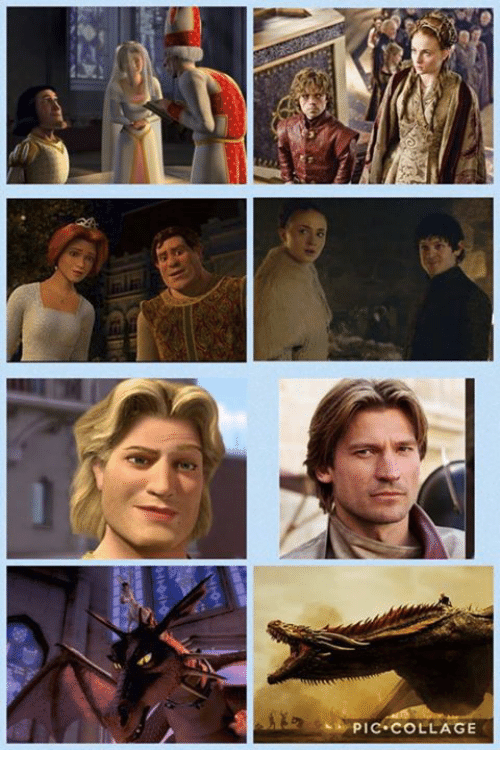Game of Thrones, Collage, and Pic: PIC COLLAGE