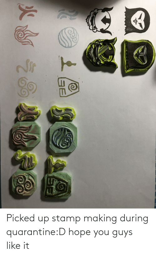 Picked: Picked up stamp making during quarantine:D hope you guys like it