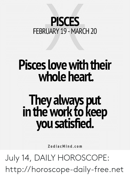 march 20 love horoscope