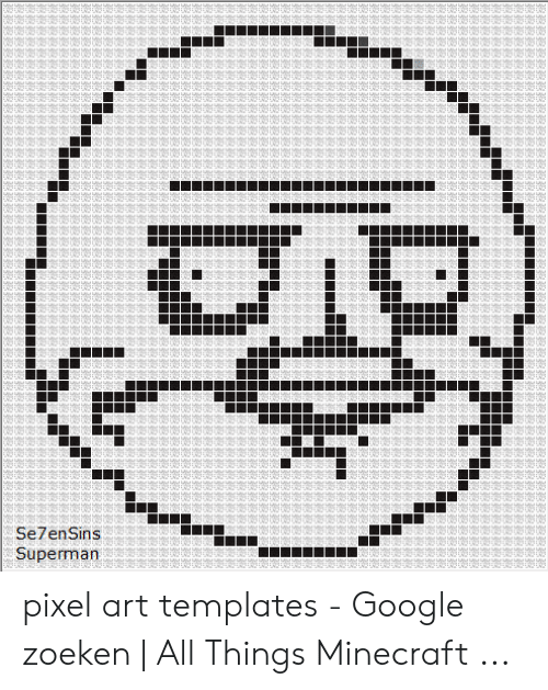Pixel Art Templates Google Zoeken All Things Minecraft