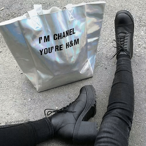 Chanel: PM CHANEL  YOU'RE H&M