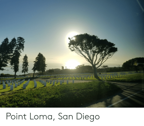 San Diego, San, and Diego: Point Loma, San Diego