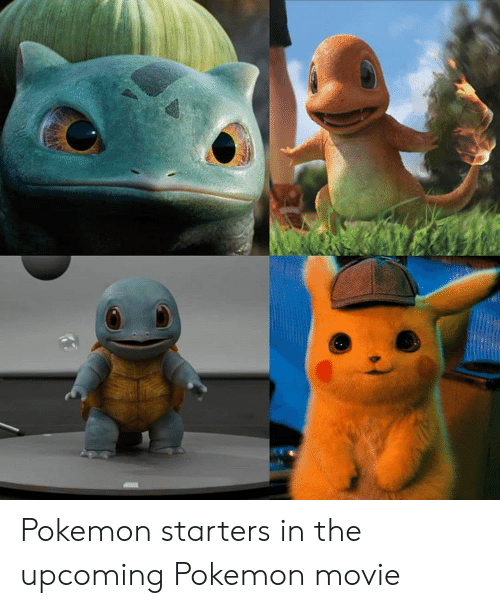 Pokemon, Movie, and Pokemon Movie: Pokemon starters in the upcoming Pokemon movie