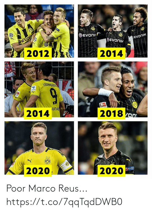 Marco: Poor Marco Reus... https://t.co/7qqTqdDWB0
