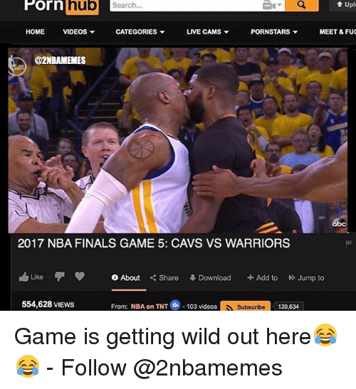 nba on tnt: Porn hub  t Uple  Search.  HOME  VIDEOS  CATEGORIES  LIVE CAMS  PORNSTARS  MEET & FUC  @2NBAMEMES  2017 NBA FINALS GAME 5: CAVS VS WARRIORS  h Like  0 About  Share  Download  Add to  Jump to  From: NBA on TNT e 103 videos  Subscribe 120,634  554,628 VIEWS Game is getting wild out here😂😂 - Follow @2nbamemes