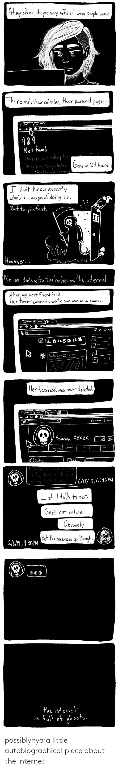 the internet: possiblynya:a little autobiographical piece about the internet