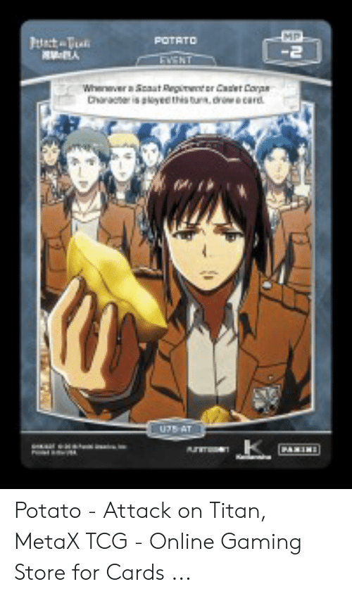 Potato - Attack on Titan MetaX TCG - Online Gaming Store for
