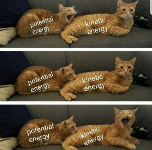 potential: potential  energy  kinetic  energy  potential  energy  kinetic  energy  potential  energy  kinetic  energy