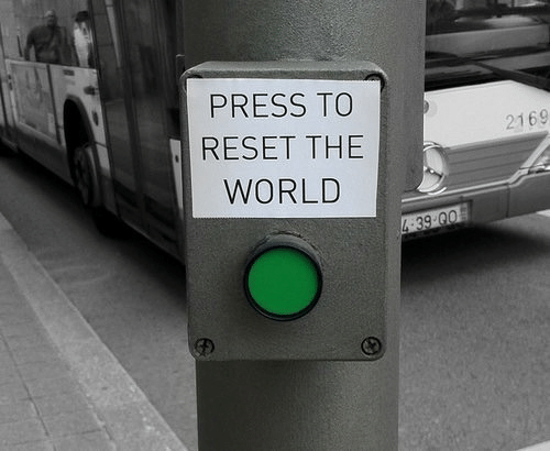 World, The World, and Press: PRESS TO  RESET THE  WORLD  2169