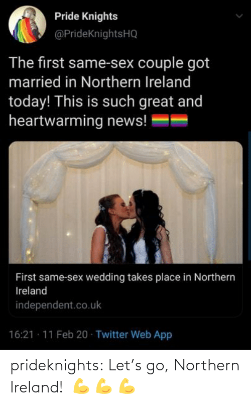 Ireland: prideknights:  Let's go, Northern Ireland!   💪    💪    💪