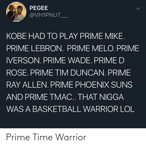 prime: Prime Time Warrior