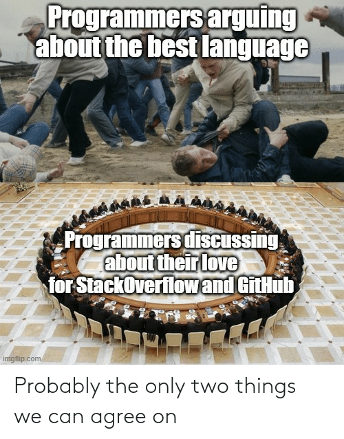 agree: Probably the only two things we can agree on