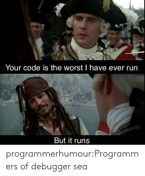 sea: programmerhumour:Programmers of debugger sea