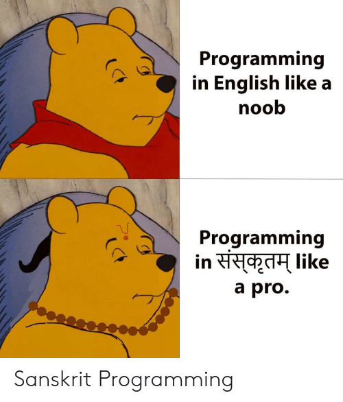 Programming in English Like a Noob Programming a Pro