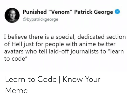 Punished Venom Patrick George I Believe There Is a Special