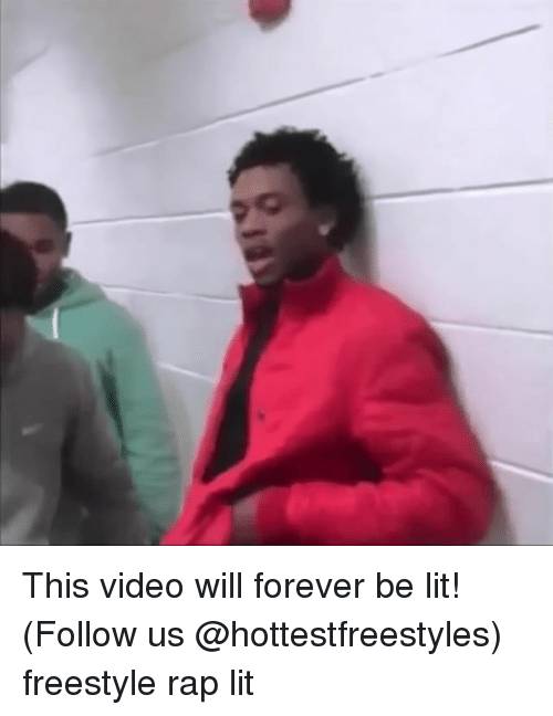 Freestyling, Memes, and 🤖: Q This video will forever be lit! (Follow us @hottestfreestyles) freestyle rap lit