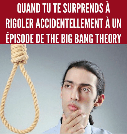 Memes, The Big Bang Theory, and Big Bang Theory: QUAND TU TE SURPRENDS A  RIGOLER ACCIDENTELLEMENT A UN  EPISODE DE THE BIG BANG THEORY