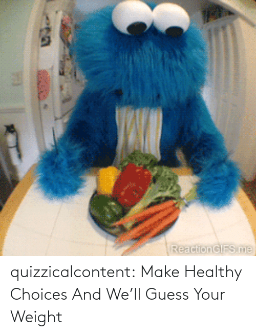 brady: quizzicalcontent:    Make Healthy Choices And We'll Guess Your Weight