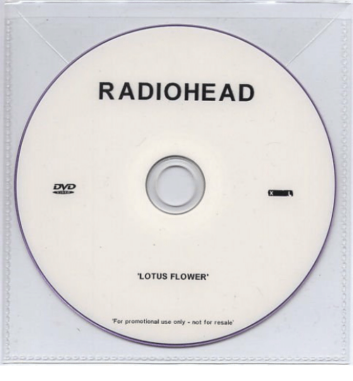 lotus flower: RADIOHEAD  DVD  LOTUS FLOWER  For promotional use only - not for resale