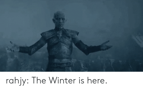 winter is here: rahjy:  The Winter is here.
