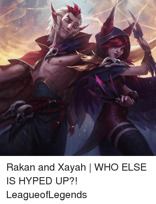 Xayah: Rakan and Xayah | WHO ELSE IS HYPED UP?! LeagueofLegends