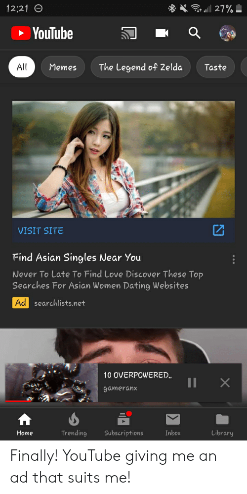 YouTube dating sites