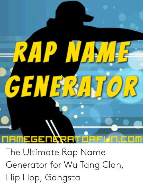 🐣 25+ Best Memes About Rap Name Generator | Rap Name
