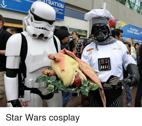 ration: RATION Star Wars cosplay