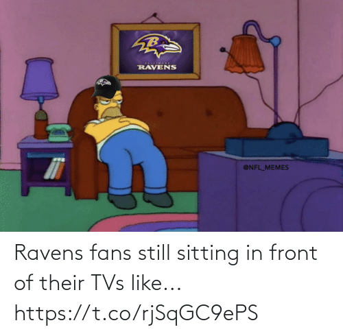 sitting: Ravens fans still sitting in front of their TVs like... https://t.co/rjSqGC9ePS
