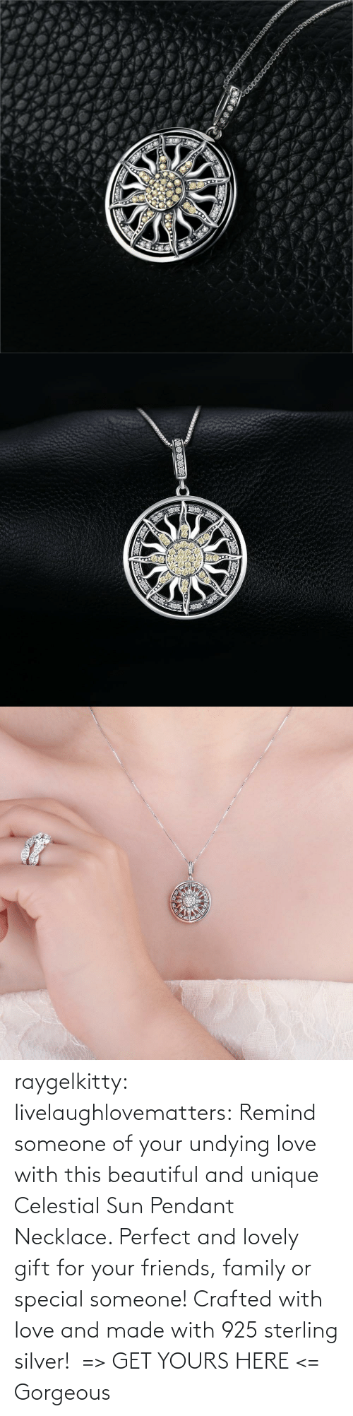 sun: raygelkitty:  livelaughlovematters: Remind someone of your undying love with this beautiful and unique Celestial Sun Pendant Necklace. Perfect and lovely gift for your friends, family or special someone! Crafted with love and made with 925 sterling silver!  => GET YOURS HERE <=    Gorgeous