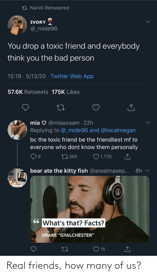Real Friends: Real friends, how many of us?
