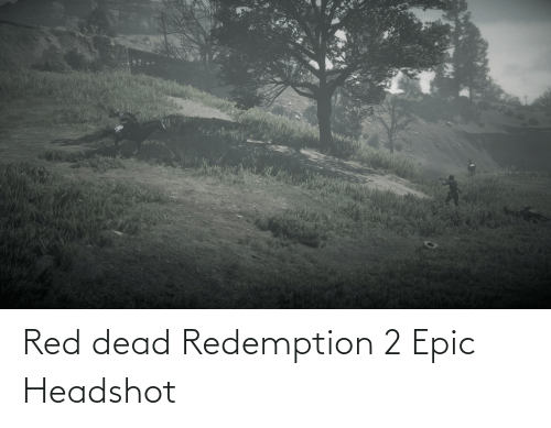 red dead: Red dead Redemption 2 Epic Headshot